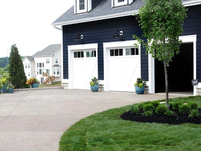 Parade of homes - Aggregate driveway