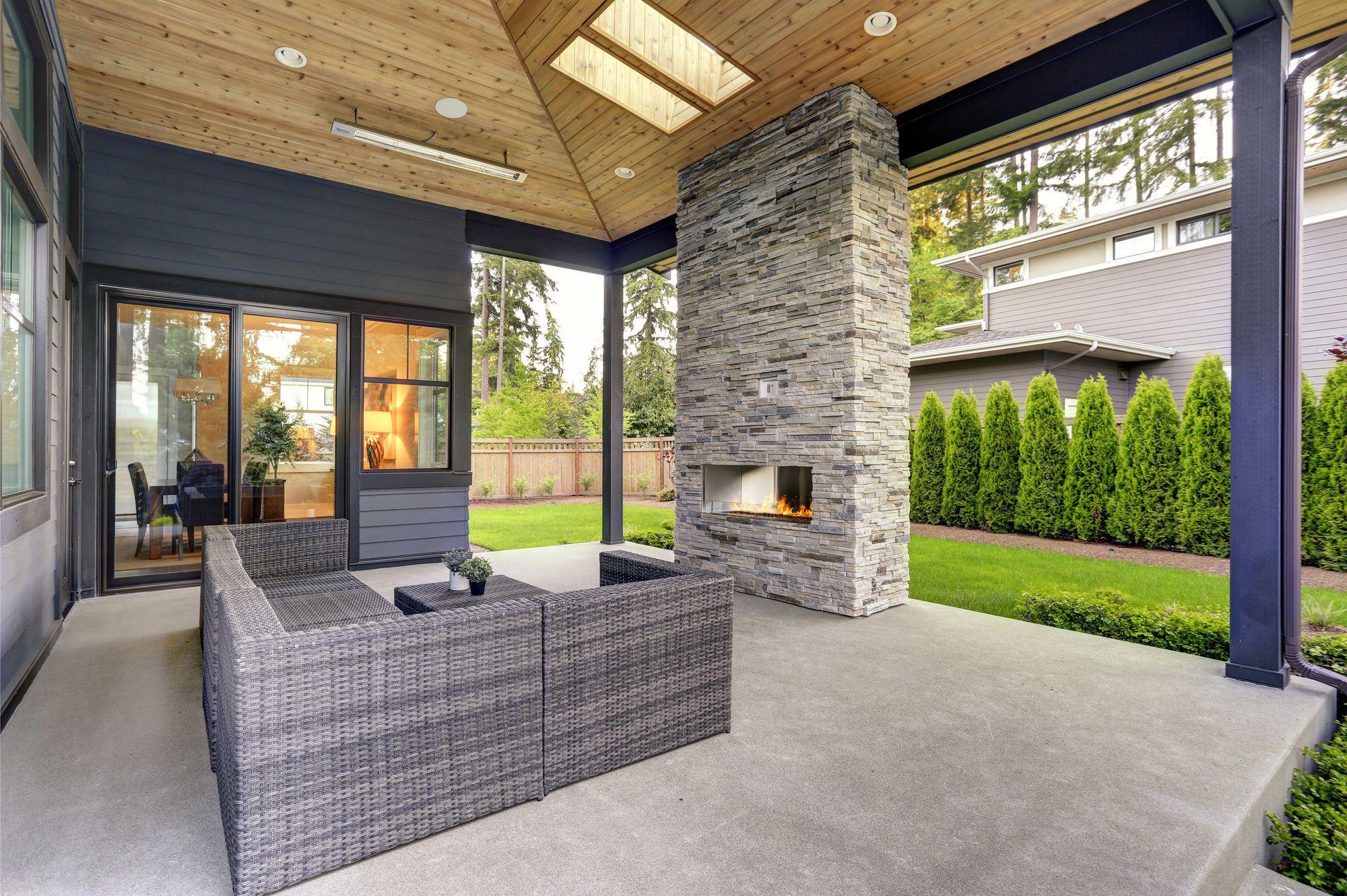 How much does a Concrete Patio Cost? | Arlington Concrete