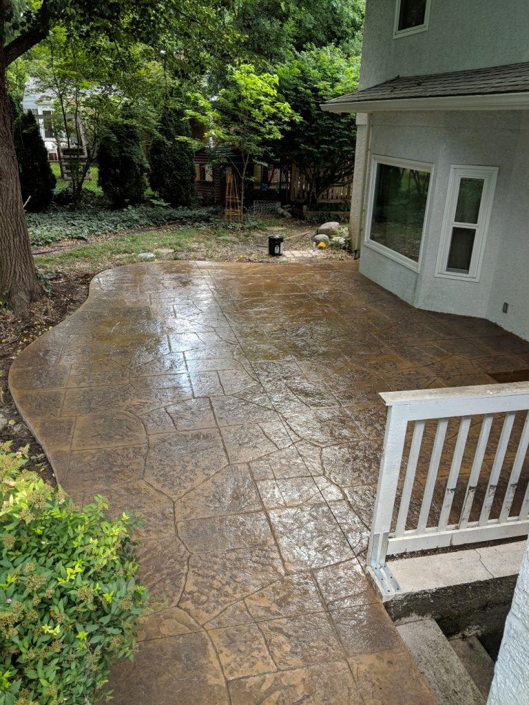 upper arlington concrete contractor patio