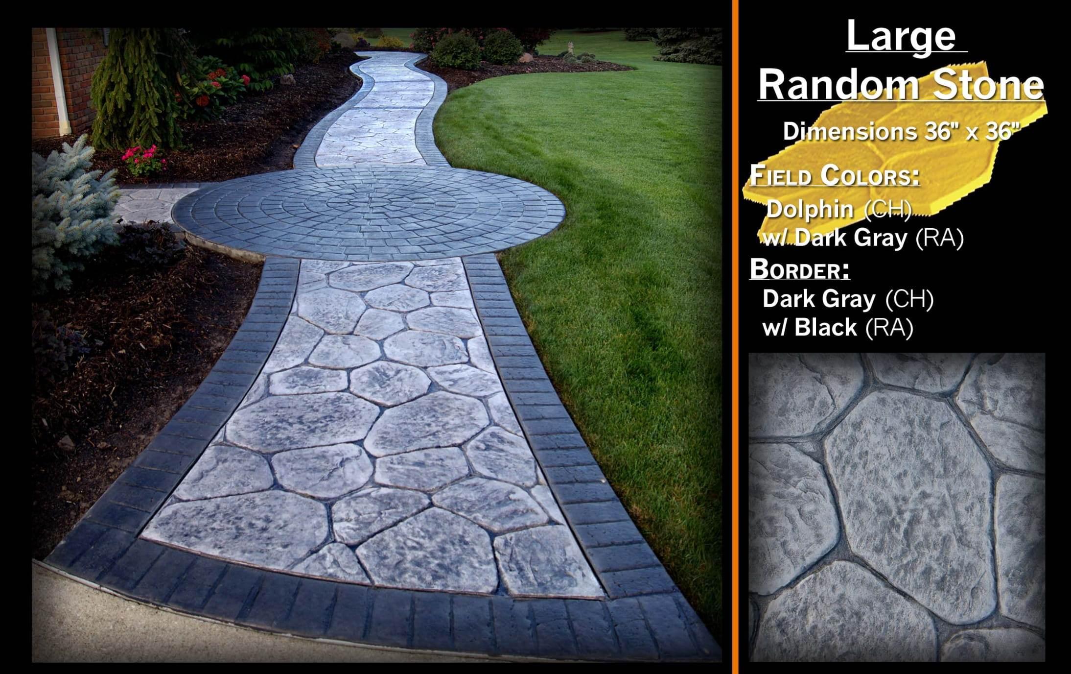 Large Random Stone
