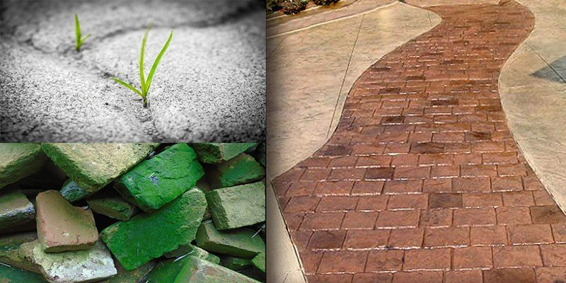 maintenance paver vs stamped concrete